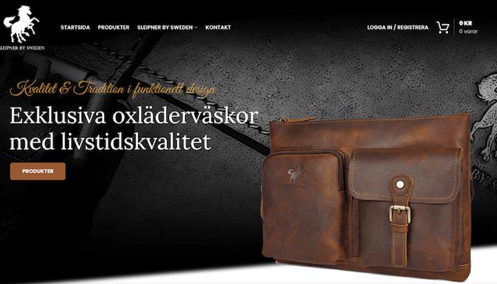 Sleipner By Sweden | Handgjorda skinnväskor | Livstidskvalité